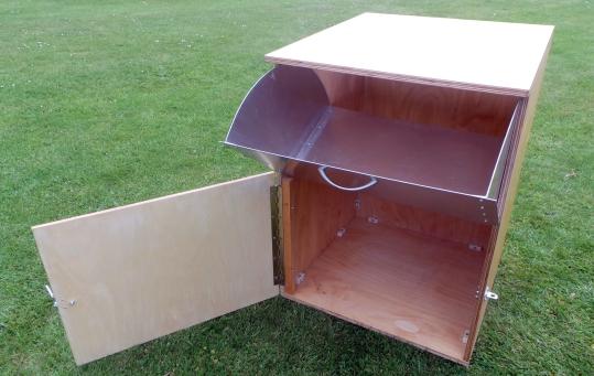 Ben Parks - oversize parcels postbox