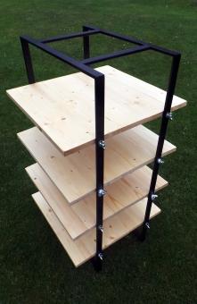 Charle Hofer - adjustable shelving